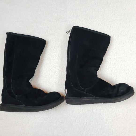 8b46525f422 UGG Shoes   5119 Knightsbridge Black Tall Boots Size 8   Poshmark